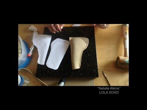 Costume-Leather Supplies/Gun Holster Pattern- LOLA XOXO (4/?) PAR