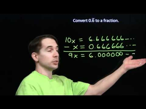 Art of Problem Solving: Converting Repeating Decimals to Fractions