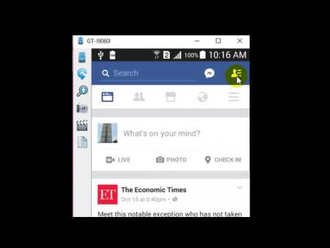 How to add cover photo in Facebook android app