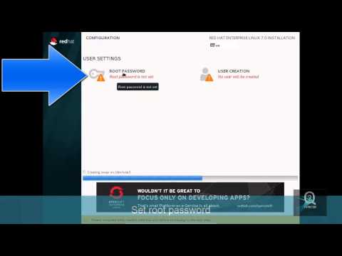 How to install red hat linux 7 graphical mode