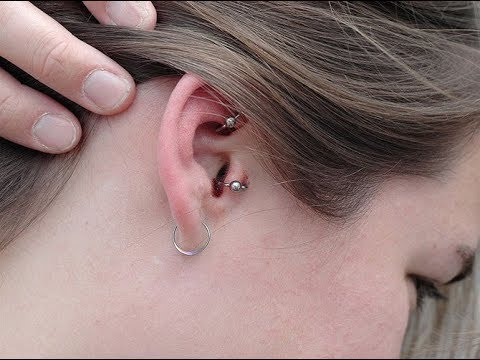 Correct Cleaning of Your Ear Piercing