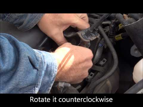 Chevy Venture - Air Tube and Cable removal