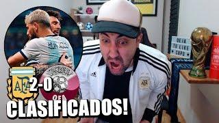 Argentina Vs Qatar   Copa América Brasil 2019   Reacción de un hincha