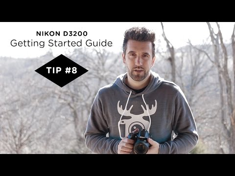 Nikon D3200 Guide - Tip #8 - Using the Self Timer to Get Sharper Images
