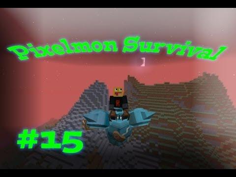 Potion Glitches! Pixelmon Survival Season 2! #15