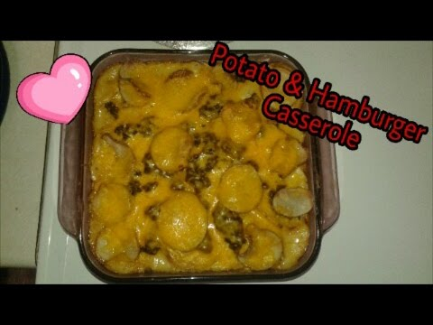 Gourmet On A Budget, Potato & Hamburger Casserole
