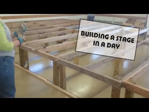 Building a Theater Stage in a Day