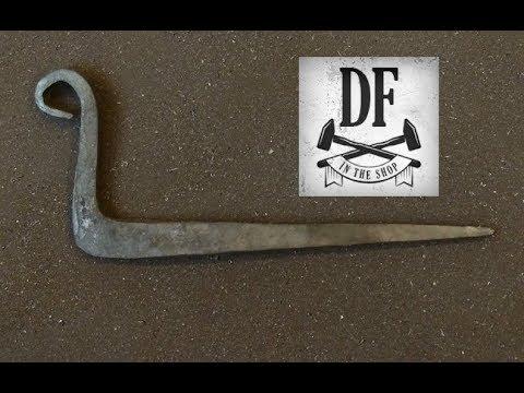 Blacksmithing For Beginners - The Beam Hook