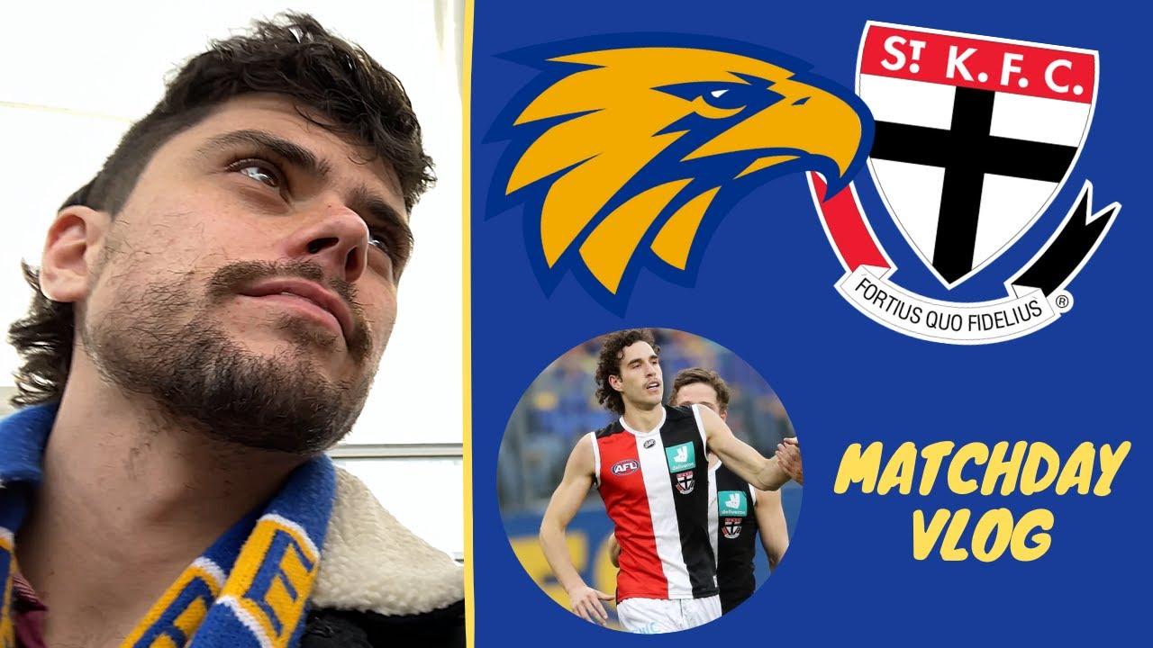 MAX KING GOES BERSERK! AFL Round 19 Vlog: West Coast Eagles Vs St Kilda