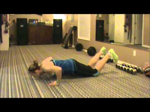 Body Weight Workout! I love Burpees!