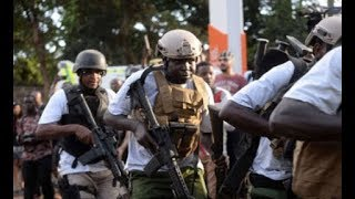 Kenya security forces storm in the DusitD2 Hotel to rescue Kenyans