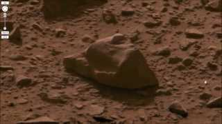 Mars has Life !   How to find a potential Broken Piece of Statuary on Mars Surface