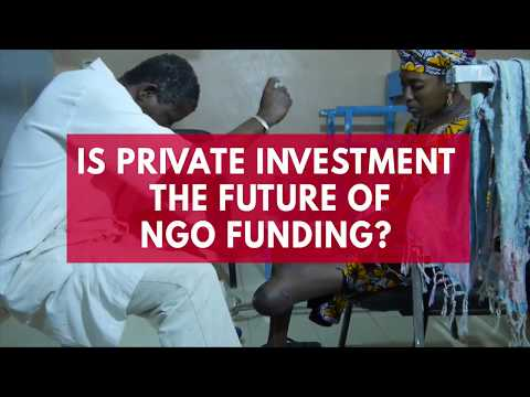 Is private investment the future of NGO funding?
