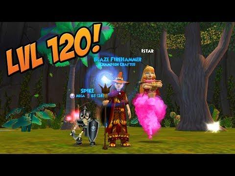 Wizard101: My Fire LvL 120 Gear Setup!