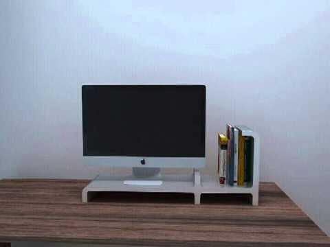 transformal monitor riser; Lego modular system furniture ; CUBIC'S