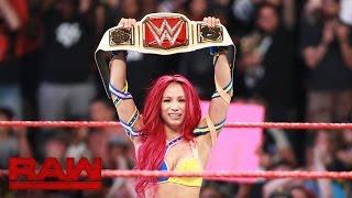 Sasha Banks vs. Charlotte - WWE Women