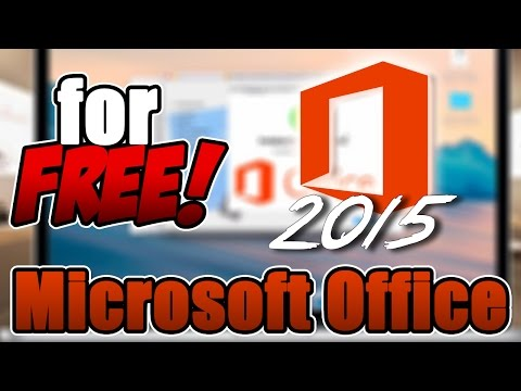 How to get Microsoft Office 2015 for FREE! MAC (Quick and Easy)