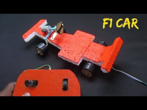 How to make an F1 Car at home easily with Remote Control