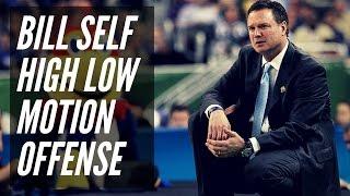 Bill Self high low motion offense complete breakdown