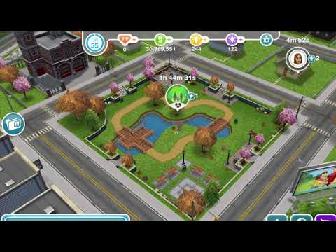 Sims Freeplay - How To Watch Birds On A Bench
