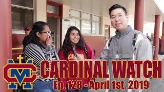 Cardinal Watch: ep. 128 - April 1st, 2019