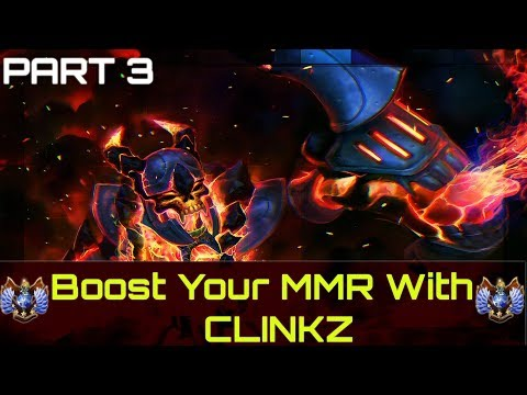 How to boost from 1k to 5k with Clinkz  [ Part 3 ]