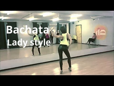 Bachata lady style class - Anna LEV