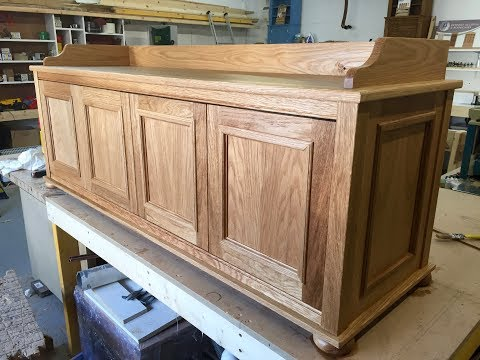 Making a Scottish Oak Settle (with drawers)