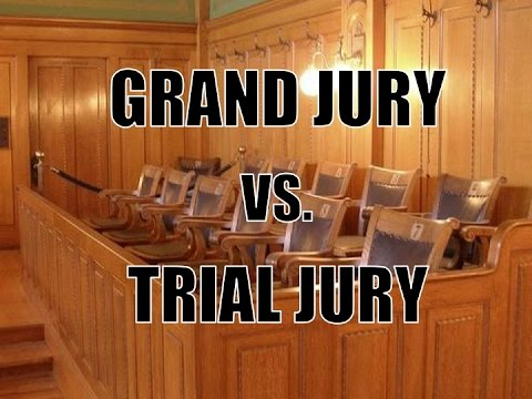 What's the Difference Between a Grand Jury and a Trial Jury?
