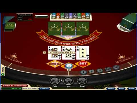 Vegas Three Card Rummy Table Game