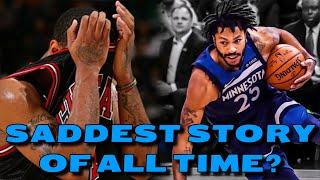 The SADDEST STORY IN NBA HISTORY: Derrick Rose