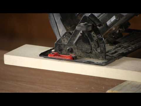 How to Cut Lumber at an Angle With a SKIL Saw : Walls & Home Repairs