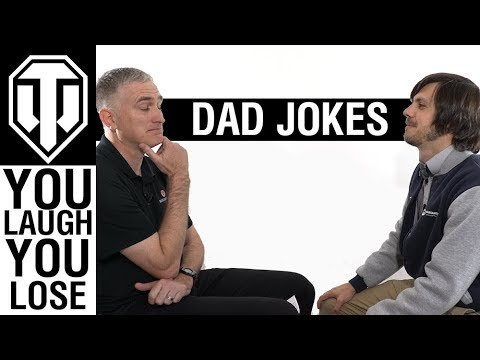 World of Tanks Dad Jokes - You Laugh You Lose + Dad Joke Contest!!