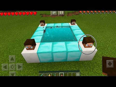 How to Make a Diamond Portal in Minecraft Pocket Edition (NO ADDONS)