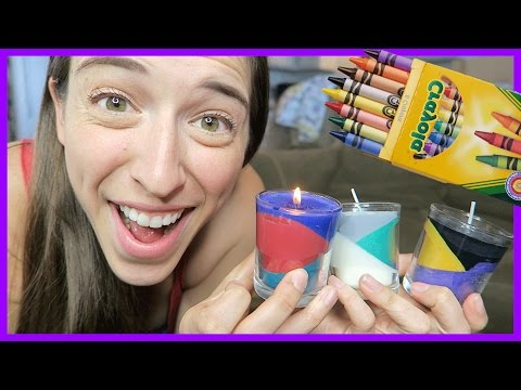 Making Layered Candles!
