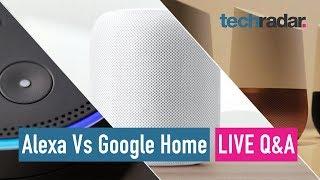 Amazon Echo Vs Google Home Live Q&A - Black Friday special!