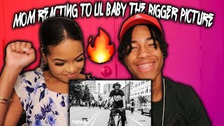 MOM REACTS TO LIL BABY - THE BIGGER PICTURE (MUSIC VIDEO)🔥