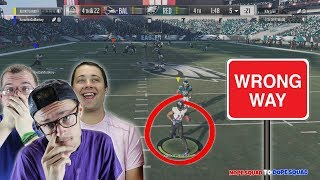 BONE HEADED MISTAKE AT THE END OF THE GAME?? DID IT COST US THE WIN?? Madden 18 Squads