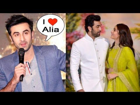 Ranbir Kapoor Finally Accepts Love For GIRLFRIEND Alia Bhatt
