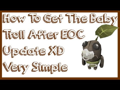 Runescape, Tutorial on How To Get A Baby Troll  - *New(2013)!!* (Outdated)
