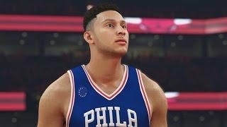 NBA 2K17 Ben Simmons Rating! Other Rookies & Players!