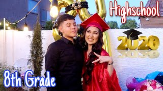 You Wont Believe What We Did For Nikki's & Ethan's Graduation!!! Class of 2020