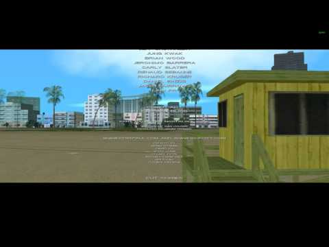 Grand Theft Auto Vice City Mission 66 End Credits