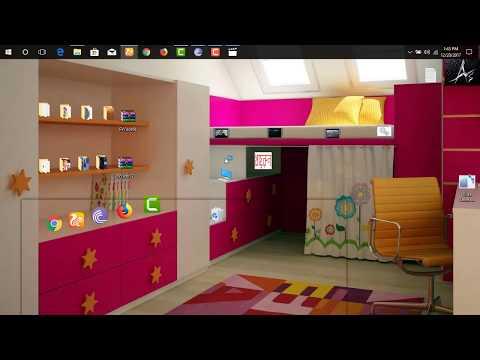 how to make a wonderful classic 3D desktop wallpaper in windows(7/8/8.1/10/10pro...)