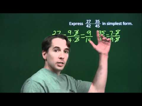 Art of Problem Solving: Multiplying Fractions the Lazy Way