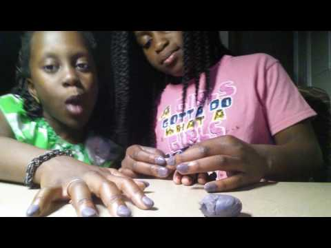 How to make fake nails out of clay