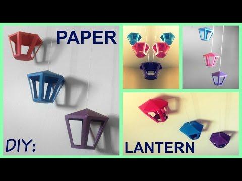 DIY: Paper Lantern | Room Decor