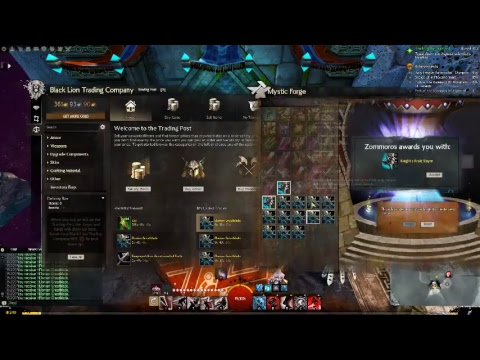 Guild Wars 2 Gambling / MF / Mystic Forge / Try my luck :)