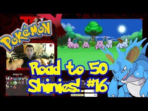 Road to 50 Shinies | Shiny #16 | SHINY NIDORAN | Pokemon XY