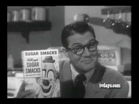 KELLOGG'S SUGAR SMACKS with GEORGE REEVES as CLARK KENT from SUPERMAN